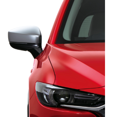 Door Mirror Cover Silver Crayford Mazda Accessories