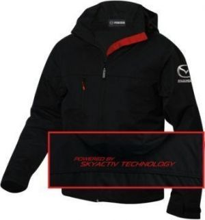 Mazda Mens Jacket in Black/Red